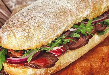 Sandwich fondant au Bœuf Payset à la raclette