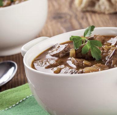 Soupe de Bœuf Paysau curry et gingembre