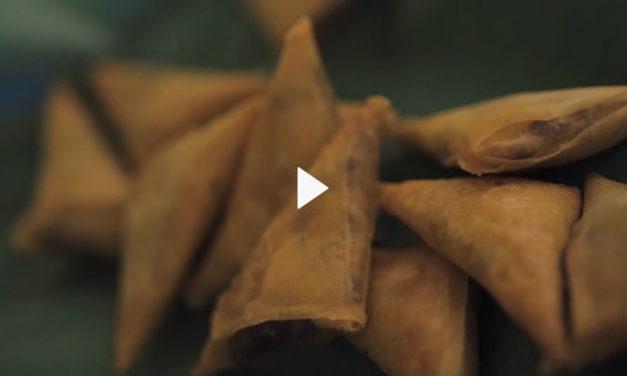 Samoussas au Bœuf Pays recette de Jacky, chef du Far Far Kréol